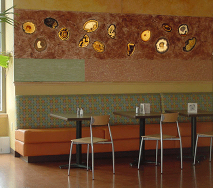 Residential Interior Design On Cityliving Chicago Il Carnuba Cafe Restaurant