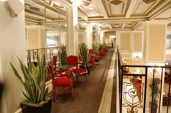 cityliving interior design-chicago, il- knickerbocker hotel lobby