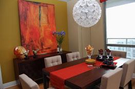dining room lakeshore condo