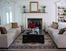 living room country estate