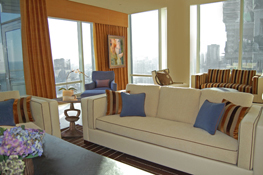 living room penthouse
