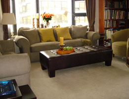 living room pied a terre